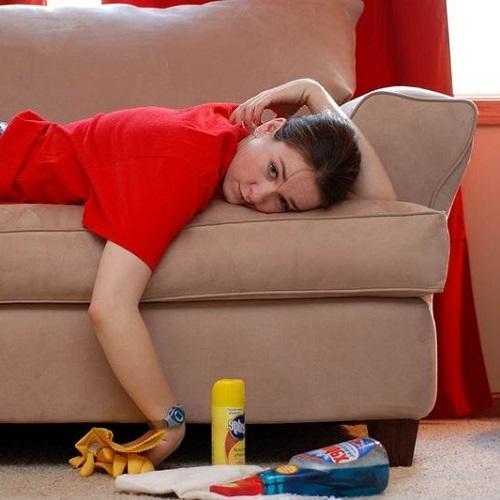 Умора след почистване на диван